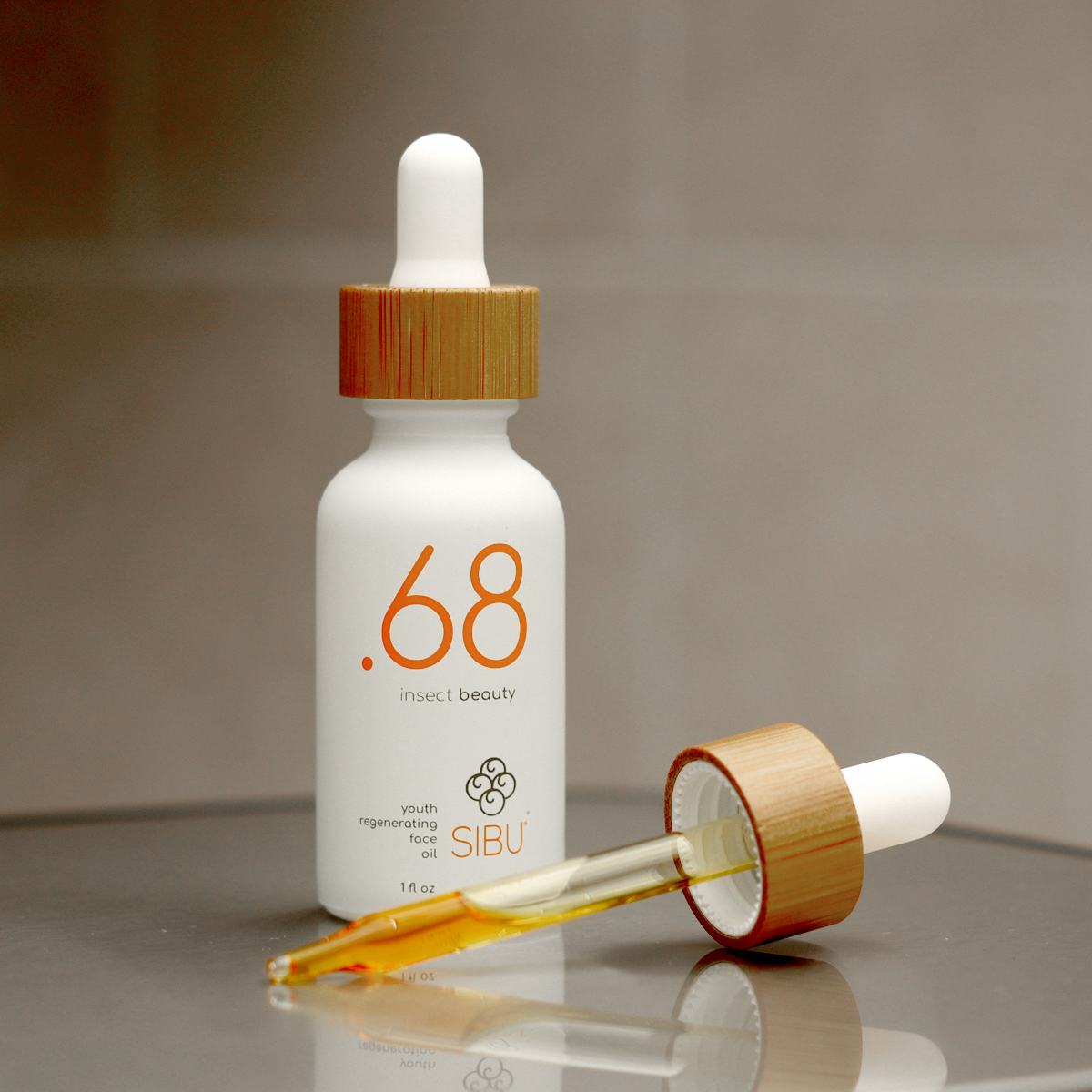 Point68 youth regenerating face oil bottle dropper