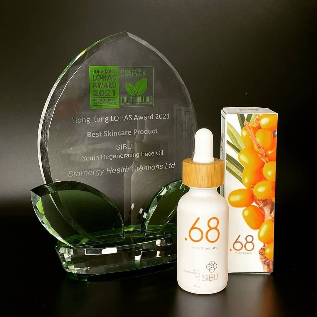 Point68 wins best skincare product lohas hong kong 2021